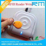 leitor do leitor RFID Keyfob 13.56MHz de 13.56MHz RFID/escritor espertos ISO14443A