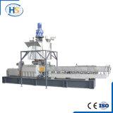 HDPE / LDPE / LLDPE / PE / PP extrusión Máquinas de plástico extrusora de doble husillo
