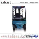 Caminhão de Forklift elétrico novo de 5 toneladas com cor azul