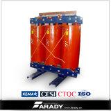 Resina del getto un tipo asciutto trasformatore di 3 fasi di distribuzione