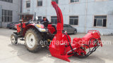 유압 Feed 250mm Chipper Two Bracckets Tractor Wood Chipper