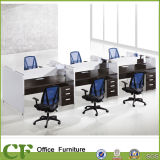 Staff를 위한 이탈리아 Style Classic Luxury Modualr 6 Person Office Partition
