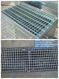 Fossé galvanisé d'IMMERSION chaude râpant pour la couverture de drain