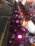 Größerer Fußball-bewegliches Hauptlicht des Bild-12*12W RGBW 4in1 LED sehen
