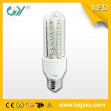 3u éclairage LED en verre 9W 12W SMD 2835 3000k 6000k