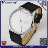 Часы мужчины wristwatch спортов людей вахты кварца кожаный планки прямоугольника даты тавра роскоши Yxl-914 2016 неподдельные водоустойчивые вскользь