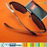 在庫管理のための860-960MHz H3 PVC UHF RFIDの宝石類の札