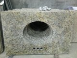 新しいVanetian Gold Granite Vanity TopsおよびCountertops