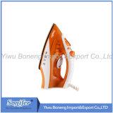 Reisendes elektrisches Eisen des Dampf-Eisen-Ei-8817 mit dem keramischen Soleplate (orange)