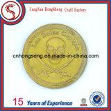 Moneta antica personalizzata del metallo di sport del rame dell'argento dell'oro