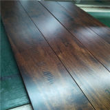 Toothing Gain Solid Acacia Wood Flooring를 가진 최신 Selling Walnut Color