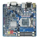 Mini cartão-matriz LGA1155 industrial do Itx com 10 Coms