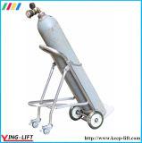 Trole Foldable Ty120b da mão do cilindro do aço inoxidável
