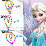 Necklace, Bracelet, Earring를 가진 도매 Frozen Children Jewelry Set