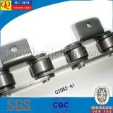 C2060HK1 Precision Double Pitch Conveyor Chain con Attachments