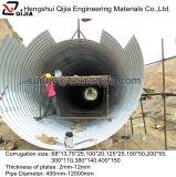 Tubo acanalado al por mayor del drenaje del diámetro grande de China