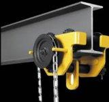 Ручная вагонетка для электрической тали с цепью