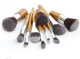 Balai en bambou durable de renivellement de traitement de 11 de PCS outils de beauté avec le sac de toile