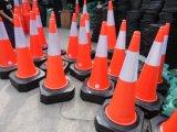 Cônes de sécurité dans la construction de PE