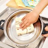 Toalhas de prato bonitos absorventes bordadas de Microfiber de toalhas de prato