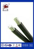 PVCによって絶縁される電線か送電ABCケーブル