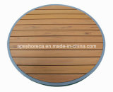 Таблица пластичной деревянной таблицы верхней части таблицы мебели трактира напольная