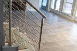 Acero inoxidable escalera Baranda, pasamanos de la escalera interior