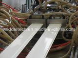 Línea plástica perfil de la protuberancia del perfil de la ventana de PVC/WPC/Ceiling//protuberancia del panel de pared y cadena de producción