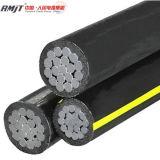Obenliegendes Aluminiumleiter-XLPE Isolierluftbündel ABC-Kabel