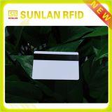 Carte sèche sans contact de PVC d'IDENTIFICATION RF d'IDENTIFICATION RF avec la bande magnétique
