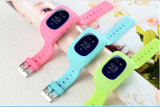 Caliente vendiendo pantalla LCD Kids GPS Location Smartwatch