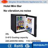 40 litres de mini réfrigérateur thermoélectrique pour l'usage d'hôtel