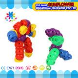 Synthons changeables de tracteur à chenilles de jouet de bureau en plastique d'enfants