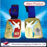 Médailles commémoratives de mariage avec de bonnes médailles de vue pour le mariage