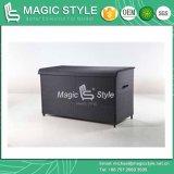 등나무 방석 상자 고리 버들 세공 방석 상자 안뜰 저장 방수 방석 상자 등나무 가슴 (마술 작풍)