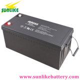Het Verzegelde Onderhoud van de Batterij van het Gel van China 12V200ah Vrij voor ZonneMacht