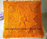새로운 디자인 손 니트 크로셰 뜨개질 방석 덮개 베개 상자