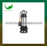 Da água de esgoto barata de Swicth do flutuador do fio de cobre da série 750W 1HP bomba submergível para a fonte de água (VM750-2F)