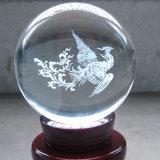 Hauptmaterielle magische bunte Kristallkugel des dekor-K9