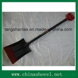 Pala russa di stile della pala della maniglia con la maniglia d'acciaio
