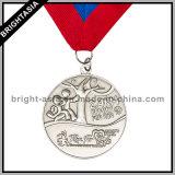 Running (BYH-10857)를 위한 Medal Ribbon를 가진 스포츠 Medallion