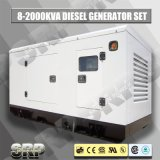 50Hz Geluiddichte Diesel die 30kVA Generator door Perkins wordt aangedreven (SDG30PS)