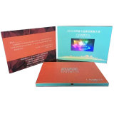 LCD Video Brochure Include LCD Video Card Video Magazine Inserts und Video Folder