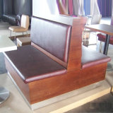 Factory Priceの高品質Wooden Dining Sofa