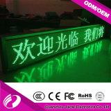P10mm escolhem o módulo do indicador de diodo emissor de luz da cor verde para a venda