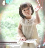 Schönes Organic Cotton Girl Dress mit Fashion Design From China
