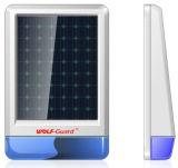 Sistema de alarme solar ao ar livre com flash solar siren