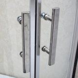 aluminio habitación de alta calidad de ducha con vidrio temperamento