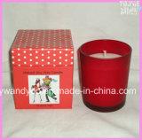 다채로운 호화스러운 간장 일치된 유리에 있는 냄새가 좋은 선물 초