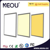 Luz de painel 12With24With36With40With48With72W do diodo emissor de luz da microplaqueta 600*600mm do diodo emissor de luz de Epistar